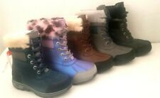 NEW UGG KIDS BUTTE II LACE UP BOOTS  SIZE 10, 11, 12, 13, 1, 2, 3, 4, 5,