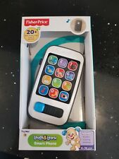 Fisher-Price Laugh and Learn Smart Phone Electronic Speaking Kids Role Play Toy
