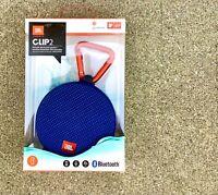 JBL CLIP 2 IPX7 Waterproof Wireless Mini Portable Bluetooth Speaker Orange&Blue