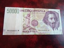 ITALY -  50000 LIRE 1992 - BANKNOTES