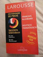 Dictionnaire de poche français-allemand  allemand-français Larousse
