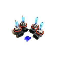 Mazda 6 GH H9 H11 501 55w Super White Xenon HID High/Low/Side Headlight Bulbs