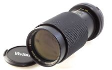 Vivitar 70-210mm f4.5 Macro One-touch telephoto zoom lens in Olympus OM fit,