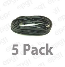 BELKIN HIGH SPEED INTERNET MODEM CABLE 25FT RJ11 BLACK 5 PIECES #ZF3L900X25-5PK