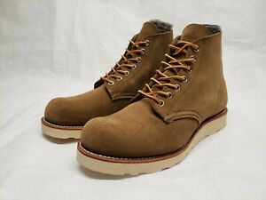 First Quality Red Wing 8824 Olive Mohave Roughout Boots Heritage Beckman 7.5 D