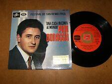 PINO DONAGGIO  - EP FRENCH COLUMBIA 1732  / LISTEN - SAN REMO 1966 - POPCORN