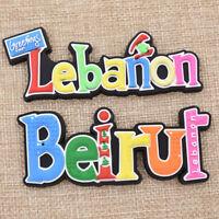Kühlschrank Aufkleber Libanon Beirut Sticker Küche Deko Reise Andenken Geschenk