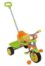 Dreirad Trike 2in1 mit Sitzring Pedalen und Schubstange lenkbar NEU 225589