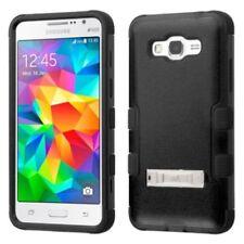 Fundas y carcasas MYBAT color principal negro para teléfonos móviles y PDAs Samsung