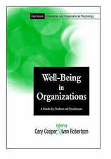 Well-Being in Organizations, Key Issues in Industrial Organiztional Psychology