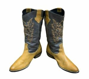 Diba Boots Cowgirl Boots Bohemian Leather Western Cowboy Boots - Women's 6.5M