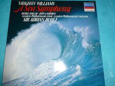 Vaughan Williams Sea Symphony Isobel Baillie Decca NM