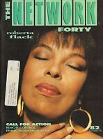 OCT 4 1991 THE NETWORK FORTY music magazine ROBERTA FLACK