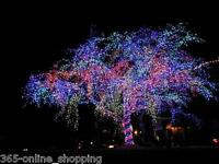 240v Outdoor/indoor Fairy string Super bright LED Lights christmas tree chasing