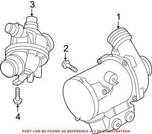 Genuine OEM Engine Coolant Thermostat Kit for BMW 11537601158
