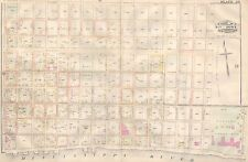 1883 BYWATER NEW ORLEANS LOUISIANA MACARTY SQUARE LOUISA ST-SISTER ST ATLAS MAP