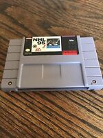 NHL 95 Super Nintendo SNES Game Cart Tested Works PC5