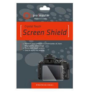 Promaster Crystal Touch Glass Screen Shield For Most Olympus Screens    DR6048