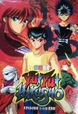 DVD Yu Yu Hakusho Episode 1-112 End English Dubbed Japanese Anime