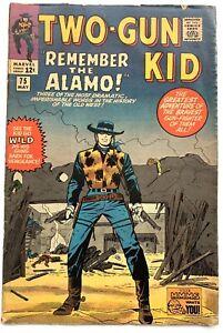 Marvel 1965 TWO GUN KID #75 Fine Jack Kirby Comics