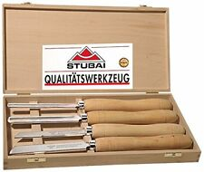 Stubai Hss-drechseleisen Langholz In Holzkass 4-teilig 709204