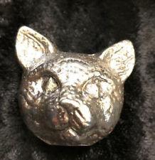 """3.5 Oz  MK BarZ  /""""Cat Head/"""" 3D Statue  .999 FS"""