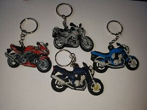 SUZUKI SV 650 1000 BANDIT MK1 MK2 & GSR 600 rubber keyring novelty gift present