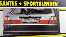 VW Golf Mk2 GTI 16V G60 Rallye Clear/Red Sacex Euro Tail Lights Panel/Heckblende