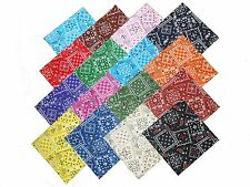 "16 10"" Quilting Fabric Layer Cake Squares Bandanna !! NEW ITEM"