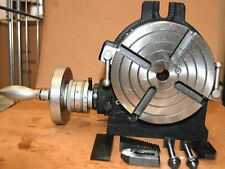 SOBA Rotary Table HV6 150 mm / 6″ for Milling Machine with Dividing Plates