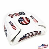 USA AMERICA MALLET  Putter Cover Headcover For Scotty Cameron Odyssey 2ball
