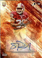 2014 Topps Fire Rookie Autographs #158 Silas Redd RC Auto