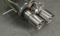 klappenanlage EXHAUST Exhaust System Audi S4 and RS4 B5 2.99in 2,7T BITUBO Flap