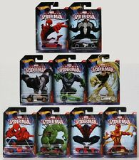 2015 Hot Wheels Marvel Ultimate Spider-Man Full Car Set of 10 1/64 Rare Die-Cast