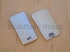 ORIGINALE Nokia 1100 1101 Cover Posteriore Coperchio | | BATTERY COVER SILVER ARGENTO NUOVO