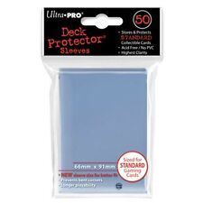 50 ULTRA PRO CLEAR DECK PROTECTORS SLEEVES Standard MTG Colors Lot