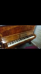 Piano Ronisch upright professional burr walnut