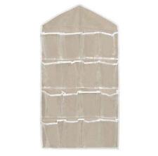 16 Pockets Clear Over Door Home Hanging Bag Shoe Rack Hanger Organizer Storage @
