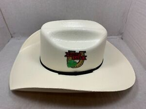 CHARLIE 1 HORSE GOOD LUCK YOUTH WESTERN STRAW HAT NATURAL ONE SIZE