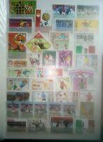 Fussball Football Soccer Briefmarken Stamps Sellos Timbres