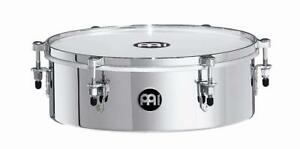 Meinl 13 inch Drummer Timbale - Chrome - MDT13CH