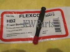 FLEXCO 30472 HB2 POWER BORING BIT *NEW IN ORIGINAL PACKAGE*