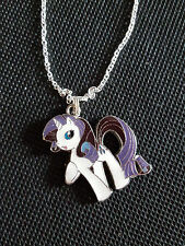 My Little Pony Necklace charm Pendant Rarity Magic Rarity Figure