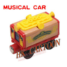 LOOSE TOMY CHUGGINGTON WOODEN MAGNETIC TRAIN- MUSICAL CAR (