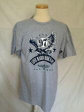 Harley-Davidson T-Shirt Sz Large Gray Las Vegas Cafe NWT