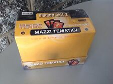 Vintage DRAGON BALL Z 8 mazzi tematici pianeta terra Saiyan sealed cards