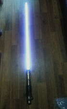 MASTER REPLICAS Star Wars Mace Windu Purple Force FX Lightsaber 2005 RARE FIND!!