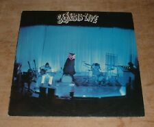 GENESIS genesis live 1973 UK CHARISMA LARGE MAD HATTER B&C LABELS NON LAMINATED
