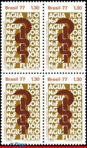 1516 BRAZIL 1977 INTL. ODONTOLOGY CONGRESS, DENTISTRY, MI# 1607 C-995, BLOCK MNH