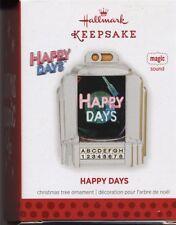 Hallmark Ornament Magic Sound HAPPY DAYS Theme Song Jukebox 2013